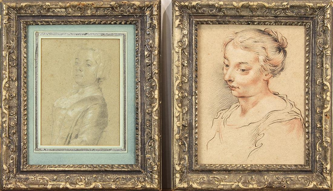 Works on paper, European School (18th century) - 2
