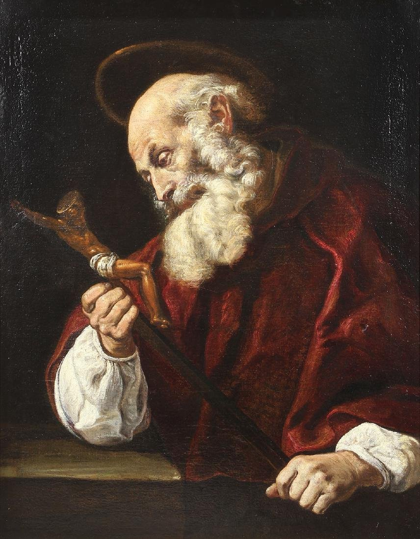 Painting, Domenico Feti, St. Jerome