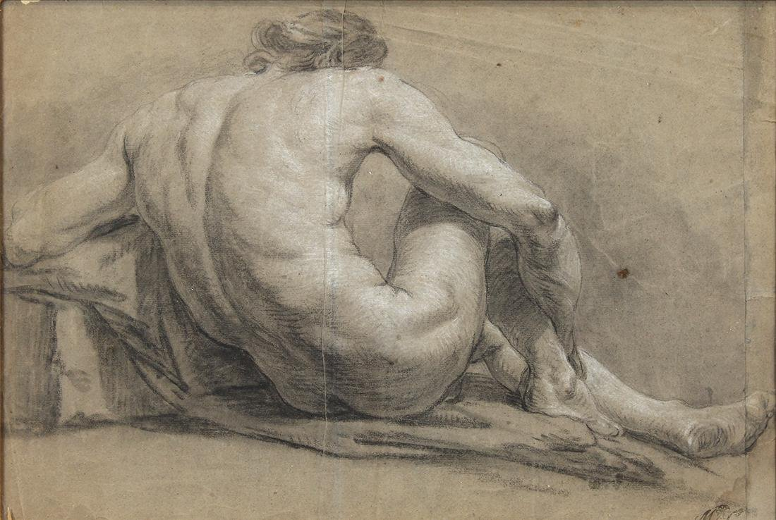 Work on paper by Il Guercino