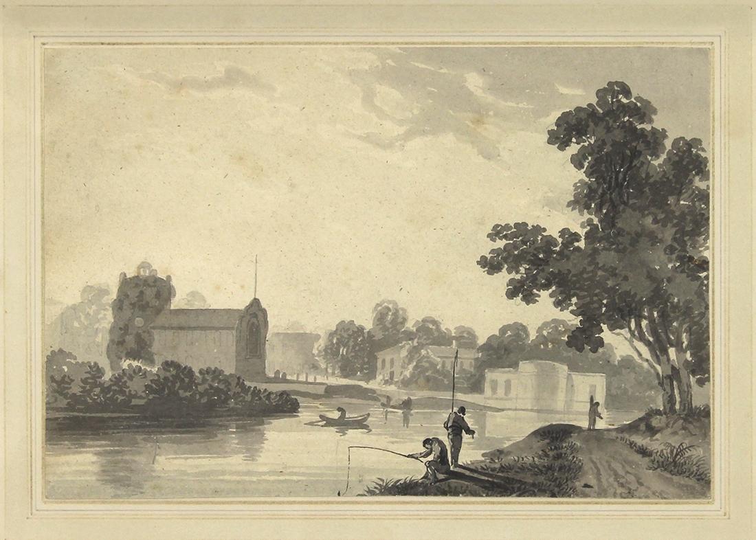 Work on Paper, Attributed to Joseph Mallard William