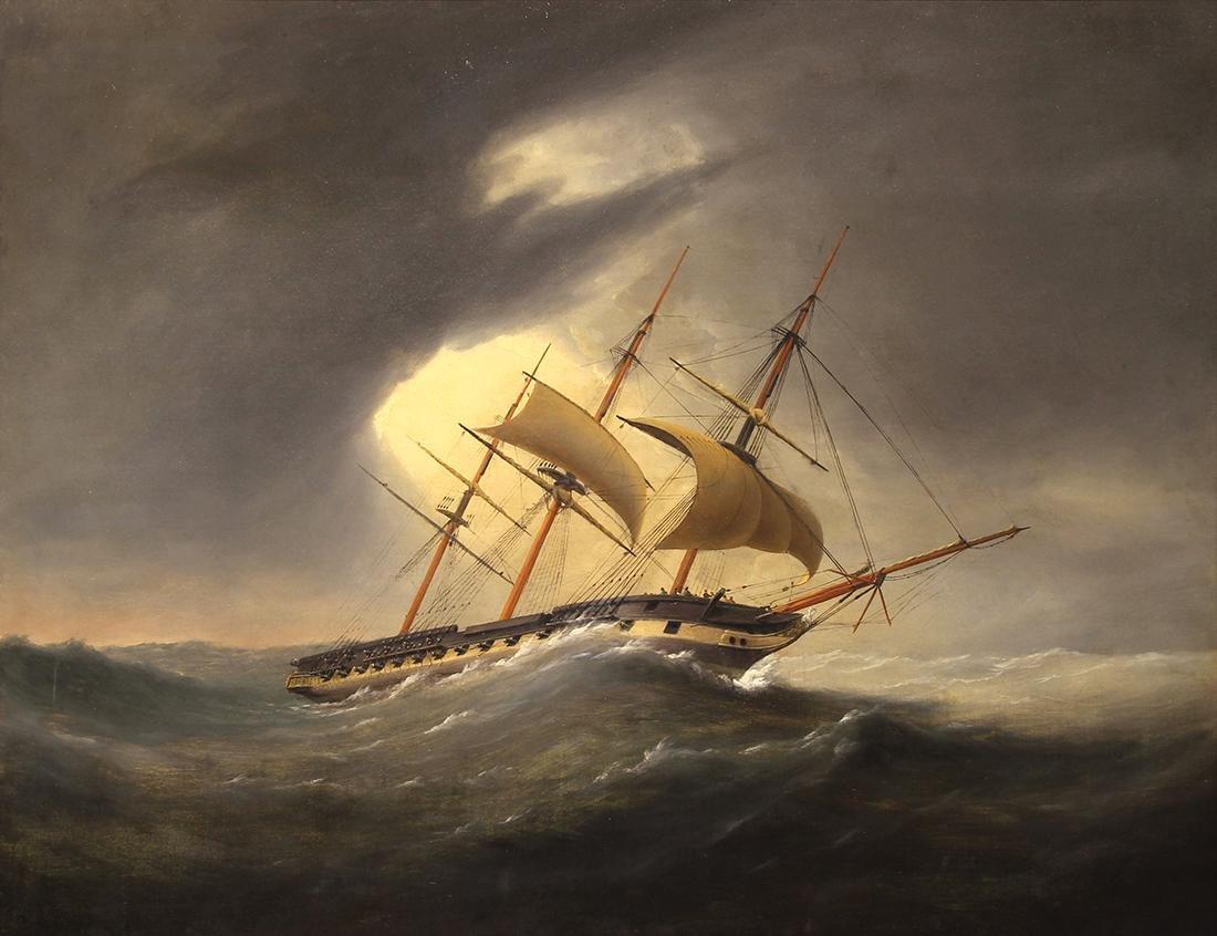Painting, Thomas Whitcombe