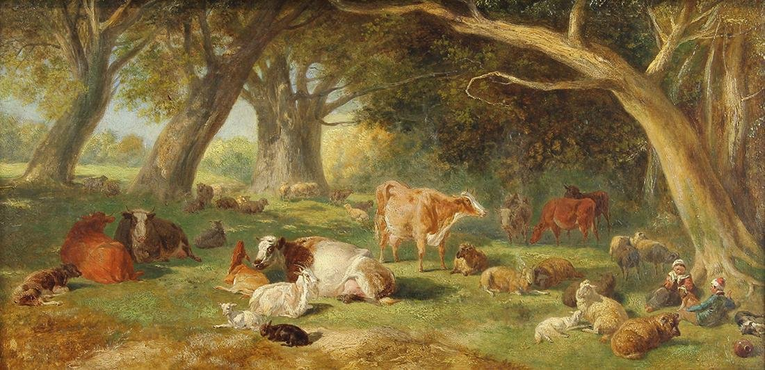 Painting, Thomas Sidney Cooper