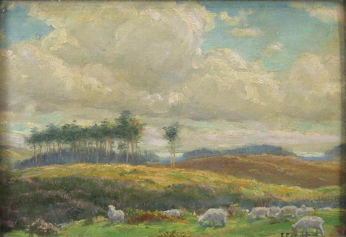 Painting, Edgar Spier Cameron