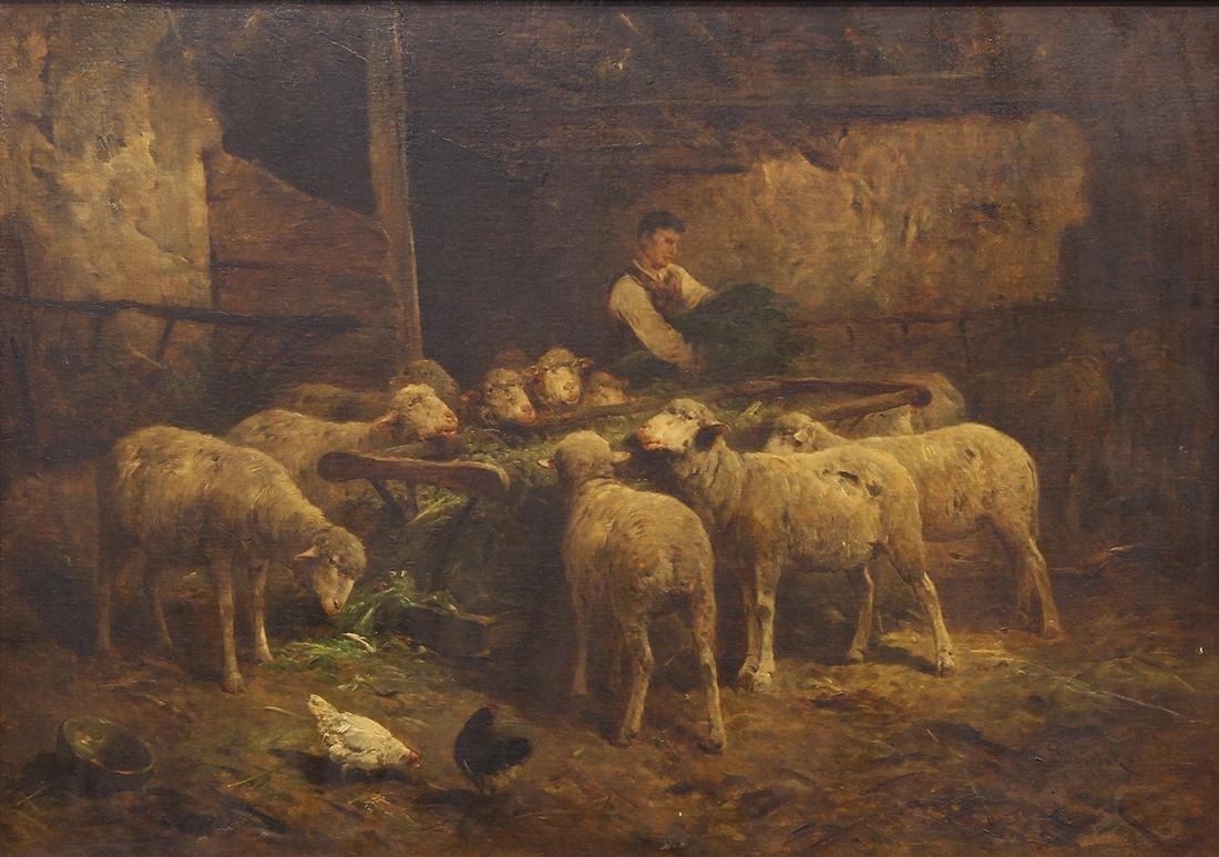 Painting, Felix Saturnin Brissot De Warville