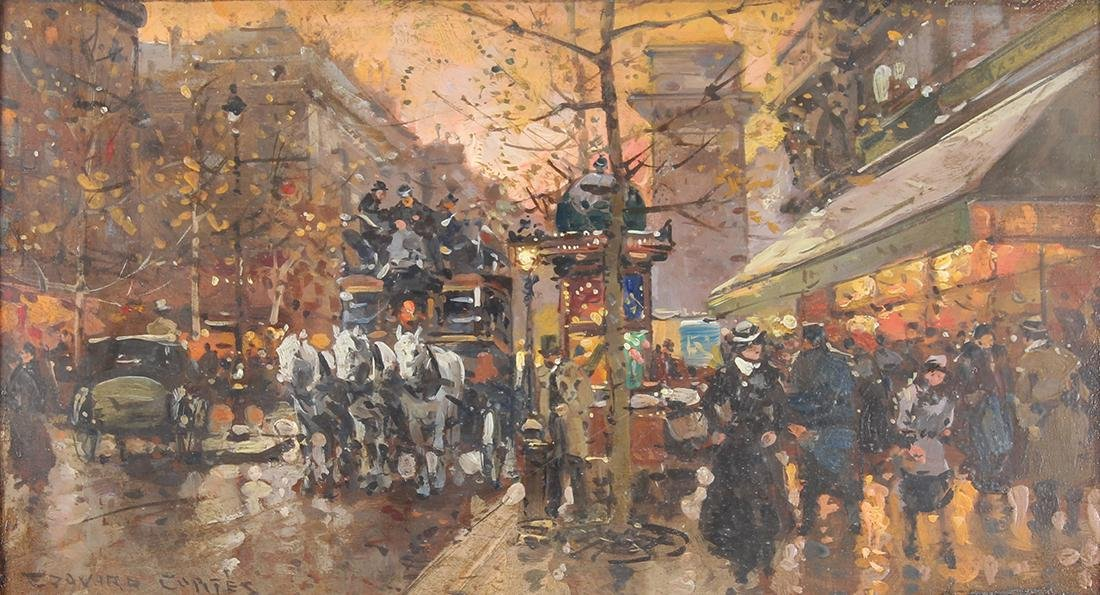 Painting, Follower of Edouard Cortes