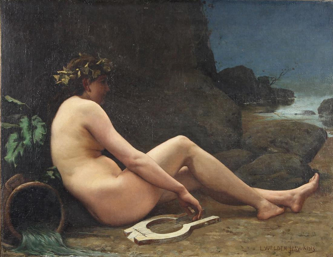 Painting, Louis Welden Hawkins