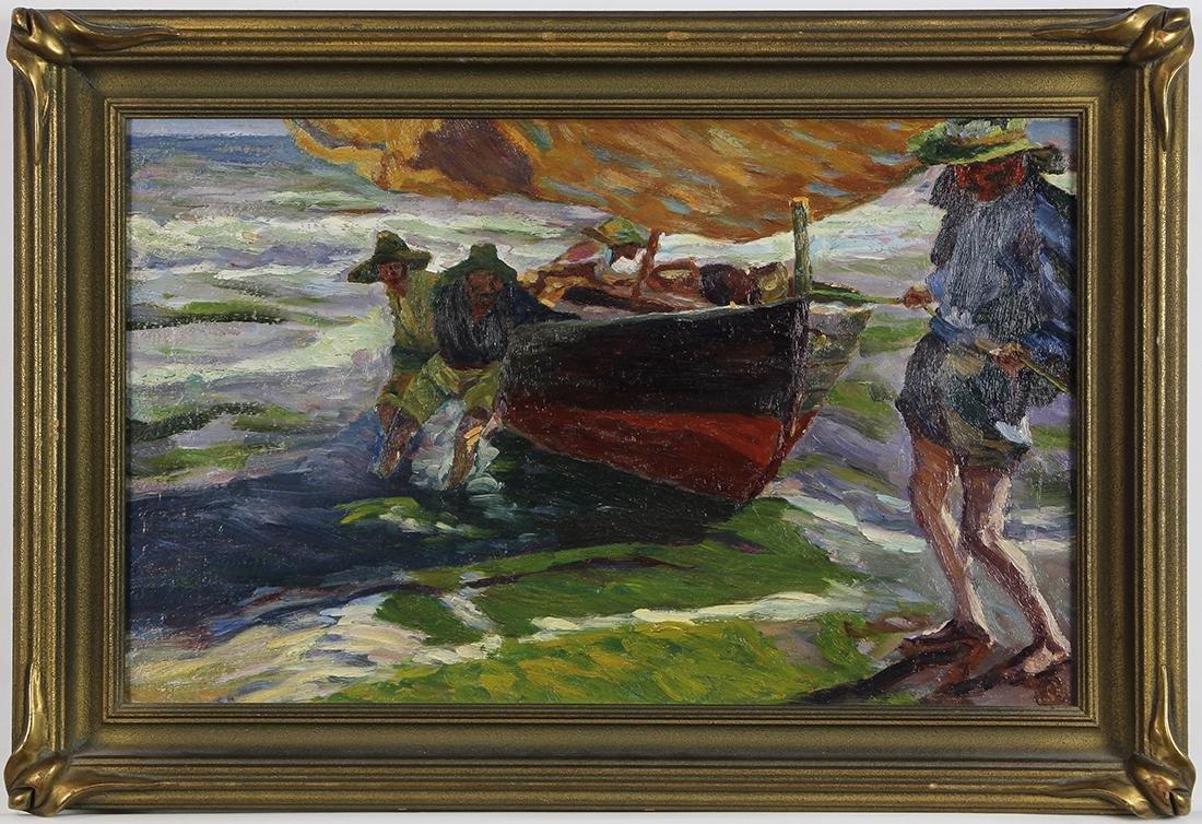 Painting, Circle of Joaquin Sorolla y Bastida - 2