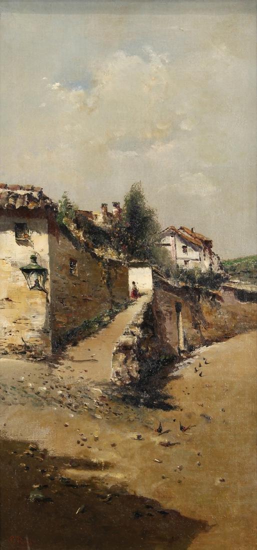 Painting, Silva Porto