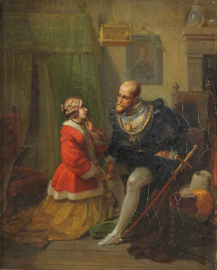 Painting, Moritz Daniel Oppenheim