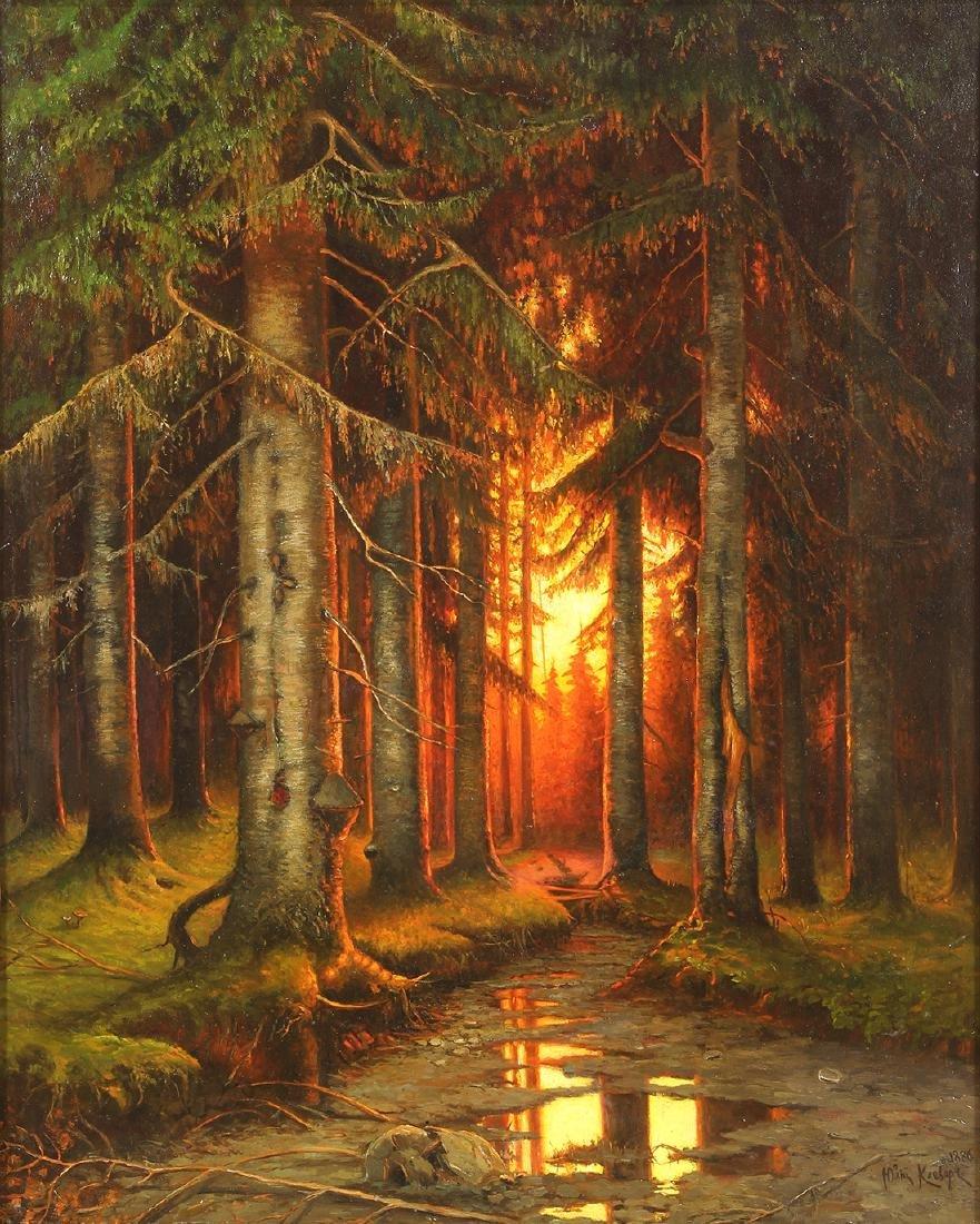 Painting, Yuliy Yulevich (Julius) Klever