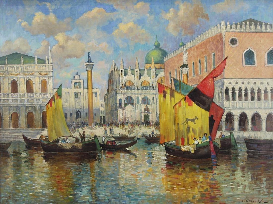 Painting, Konstantin Gorbatov