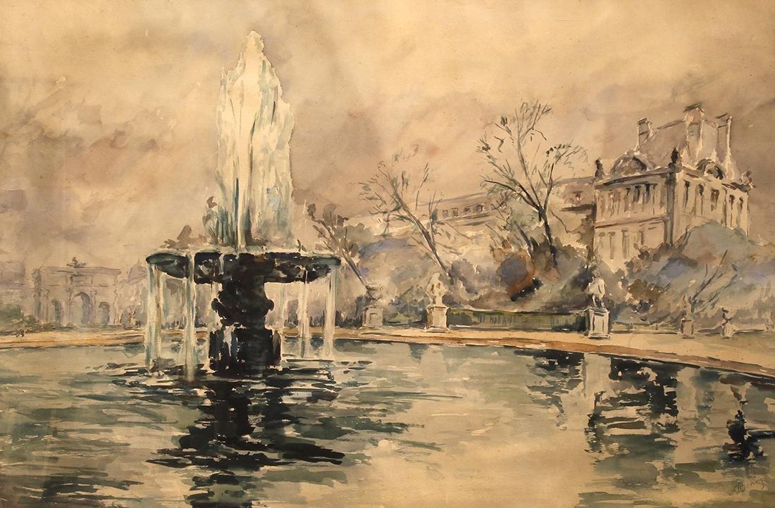 Watercolor, Alexander Benois