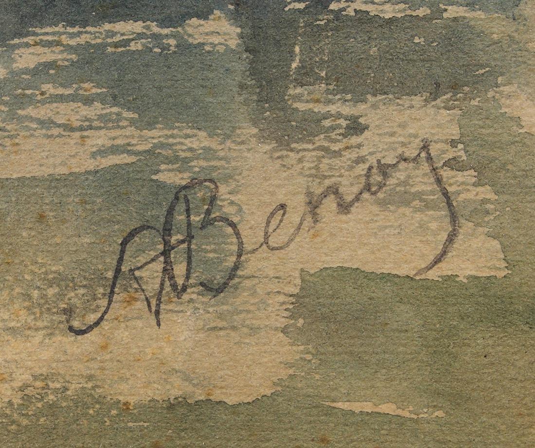 Watercolor, Alexander Benois - 4