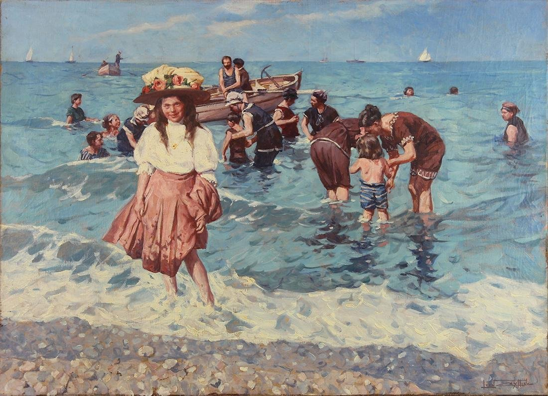 Painting, Leon Zeytline