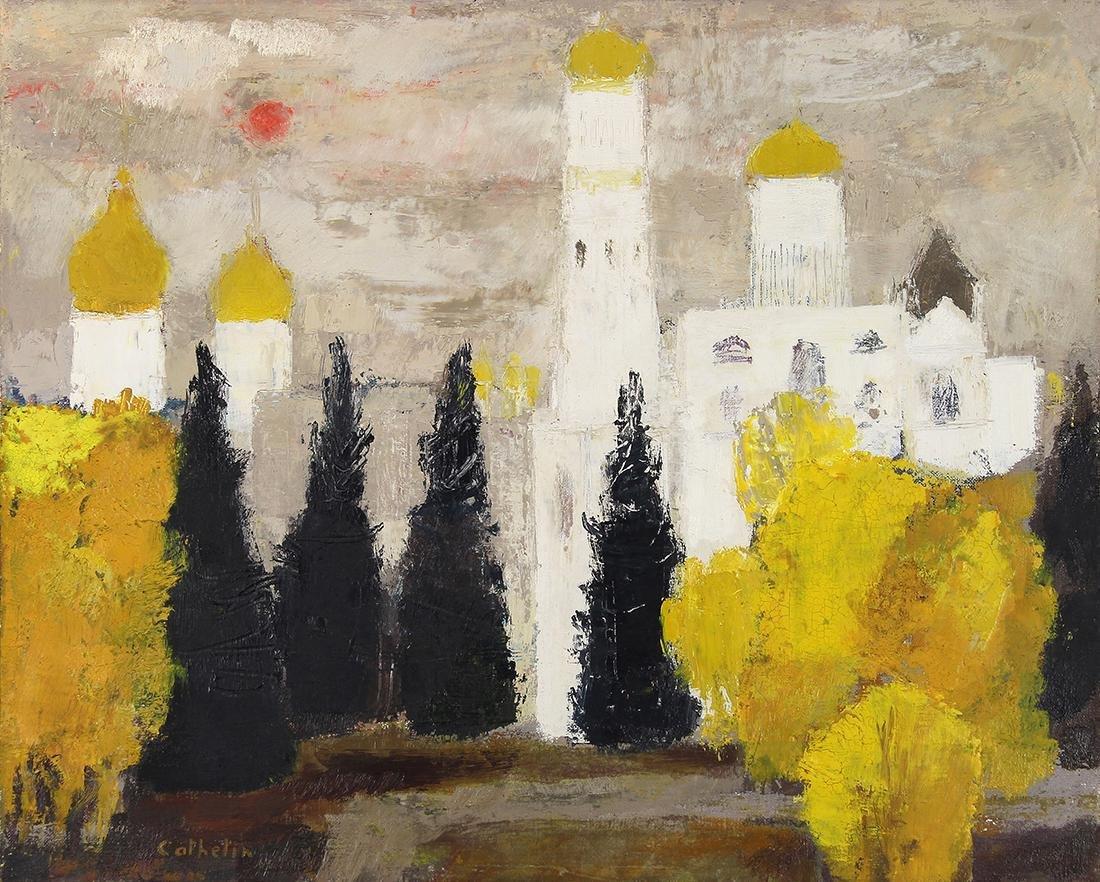 Painting, Bernard Cathelin