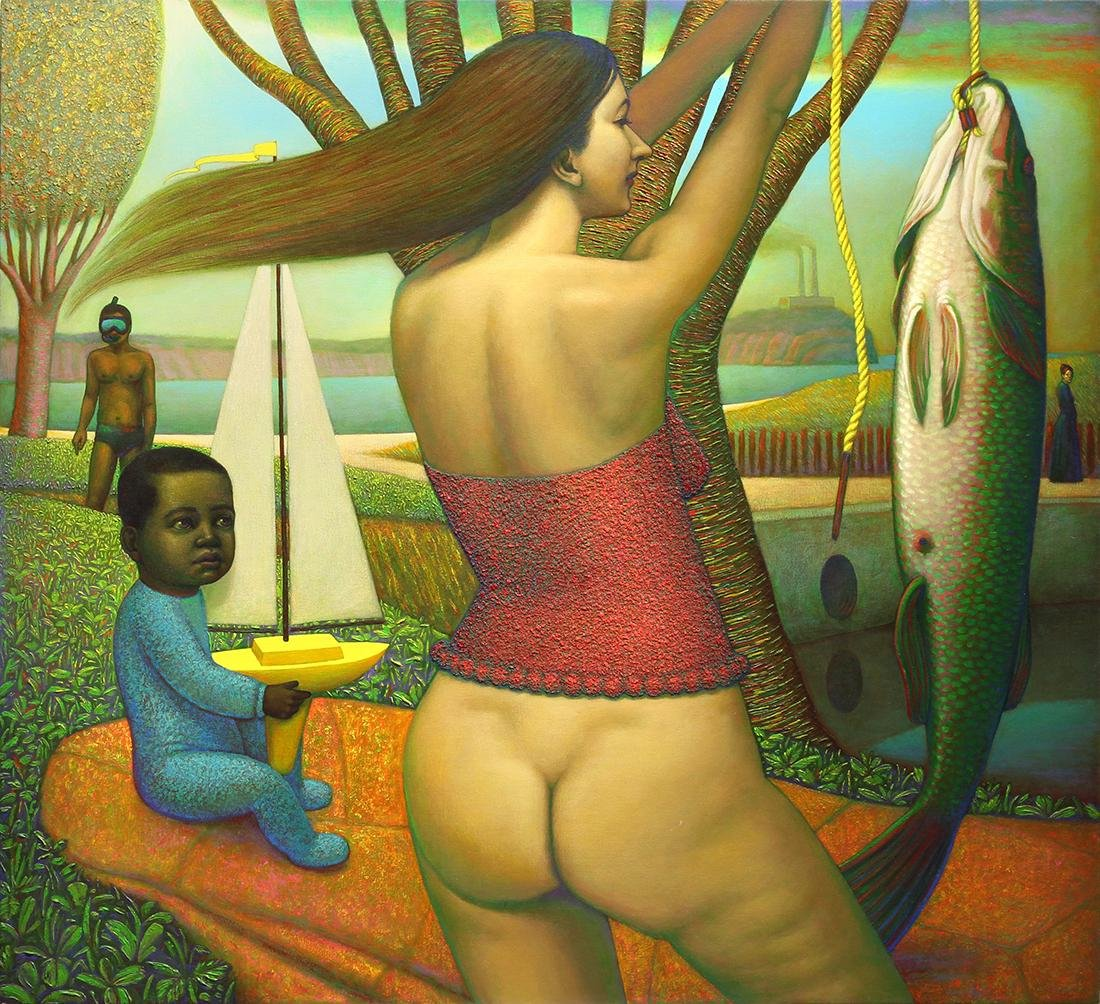Painting, Johnny Tarahteef