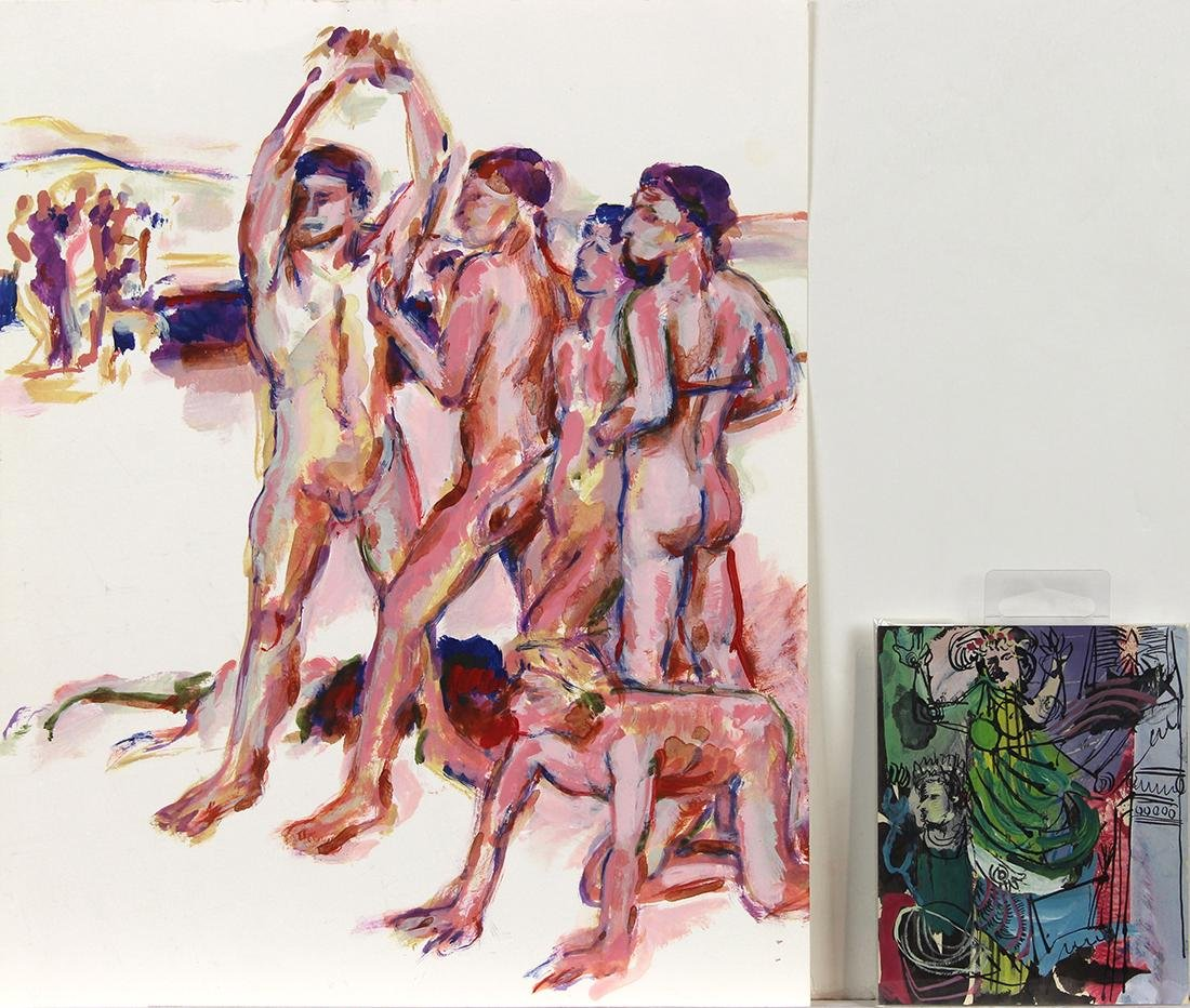 Works on Paper, Paul Wonner