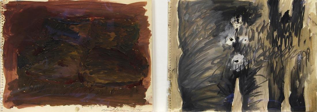 Paintings, Mernet Larsen