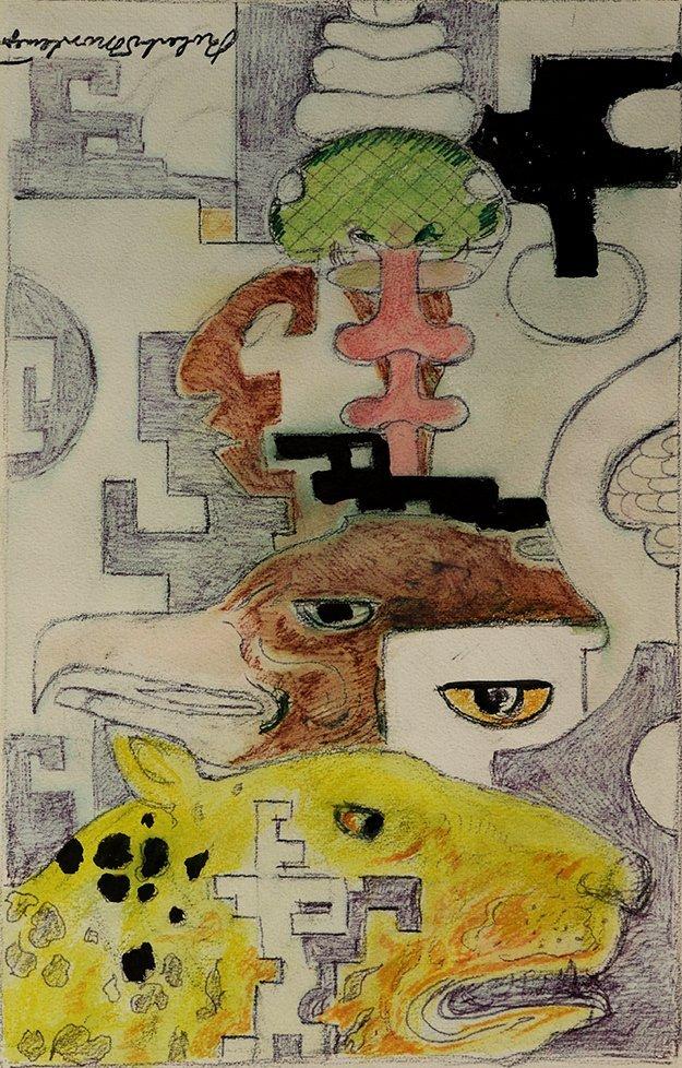 Work on paper, Roberto Montenegro
