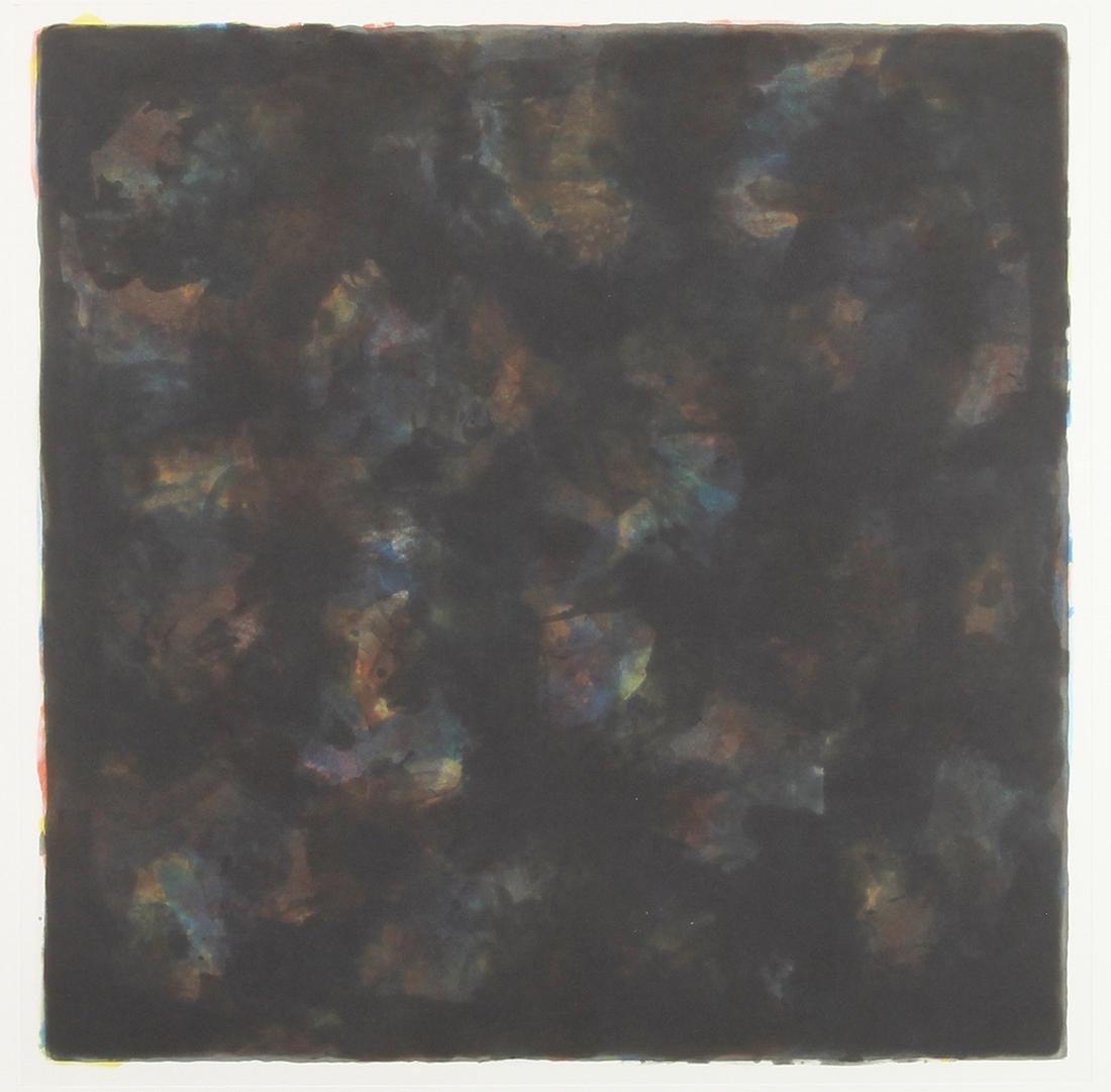 Print, Sol LeWitt, Color and Black 40 X 40/1