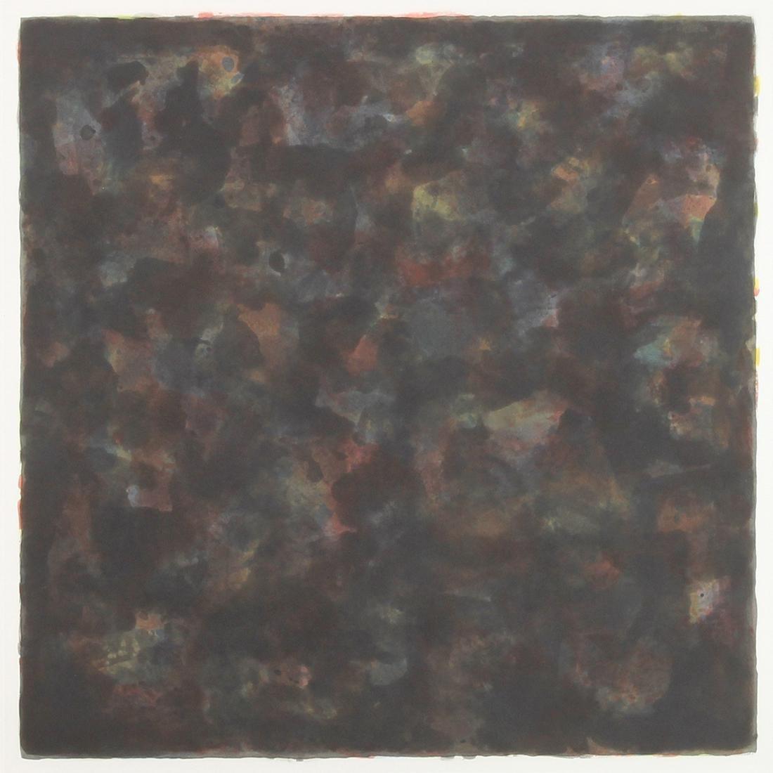 Print, Sol LeWitt, Color and Black 40 X 40/3