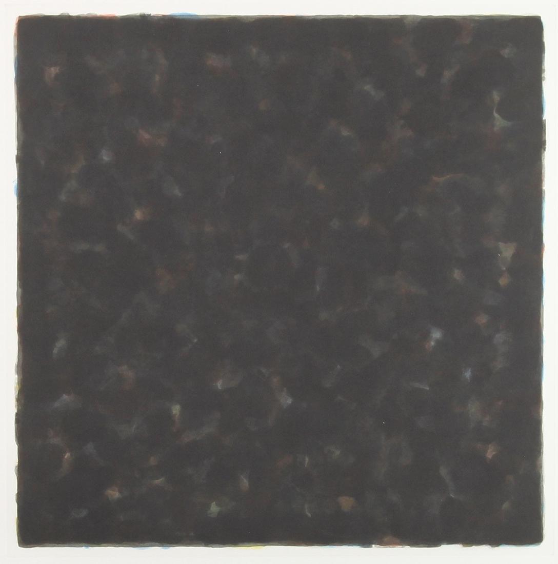 Print, Sol LeWitt, Color and Black 40 X 40/4