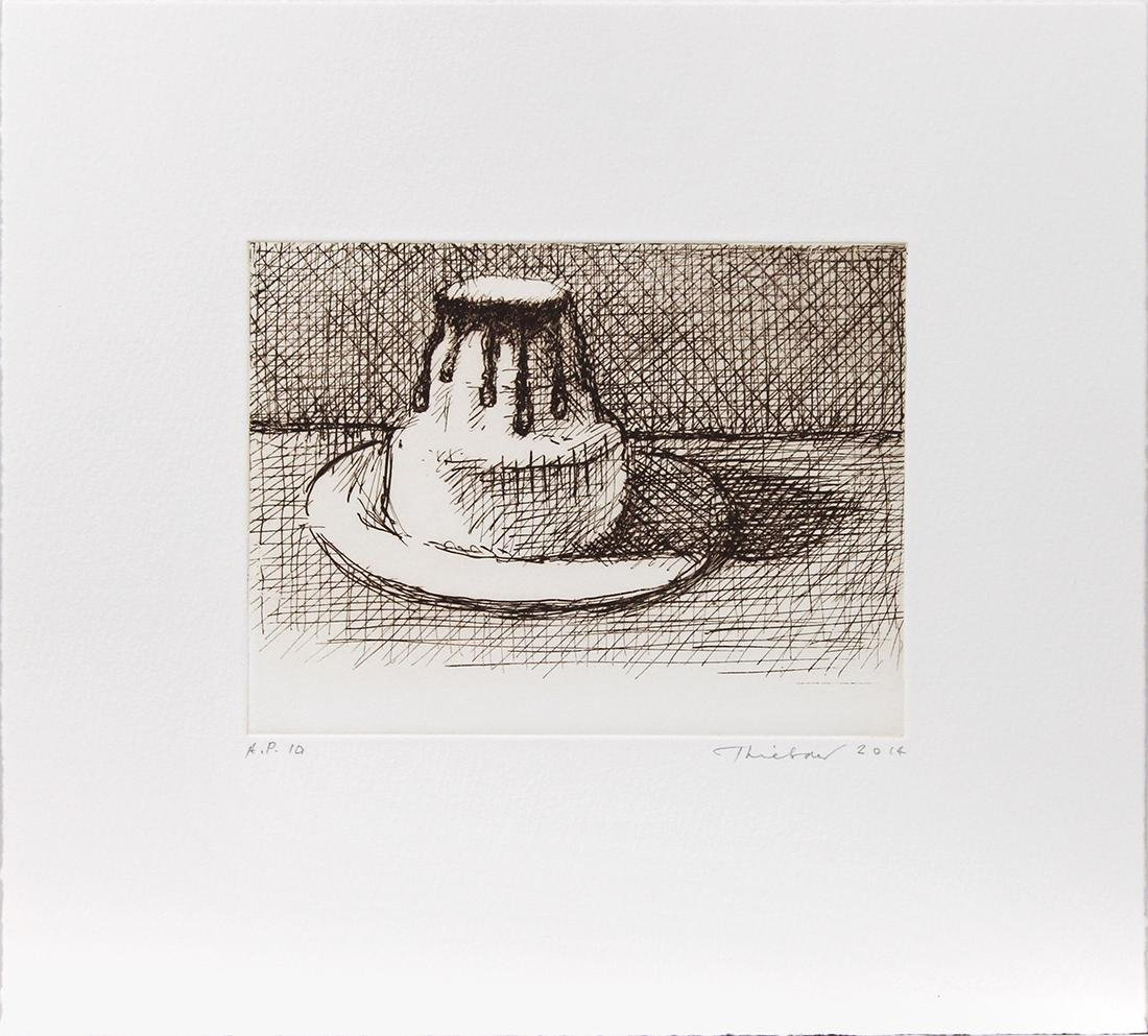 Print, Wayne Thiebaud, White Chocolate - 2