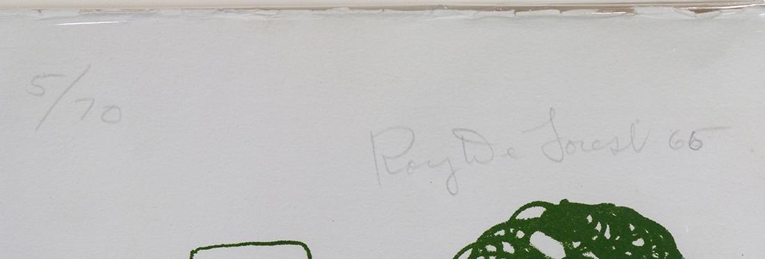 Print, Roy de Forest - 2
