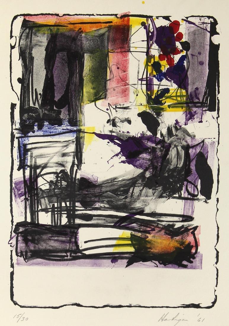 Print, Grace Hartigan