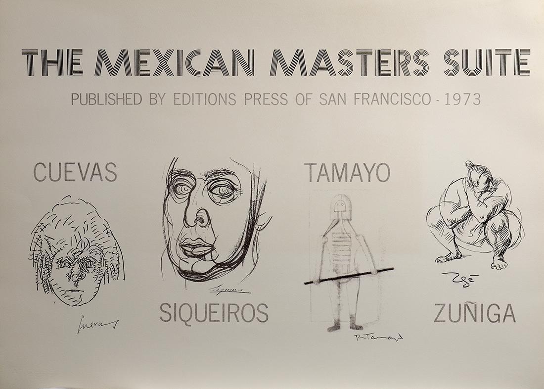 Complete Portfolio, The Mexican Masters Suite, 1973 - 9