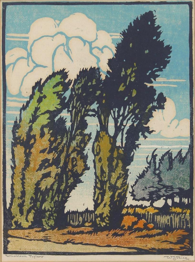 Print, William Seltzer Rice