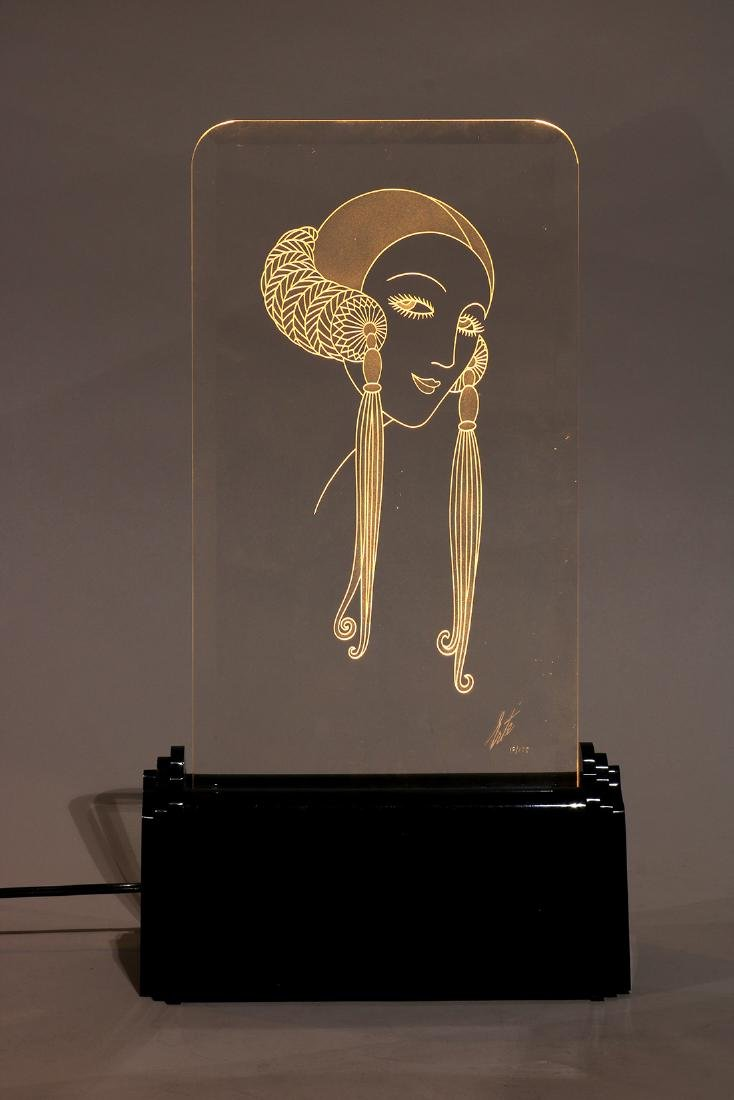 Lighted sculpture, Erte