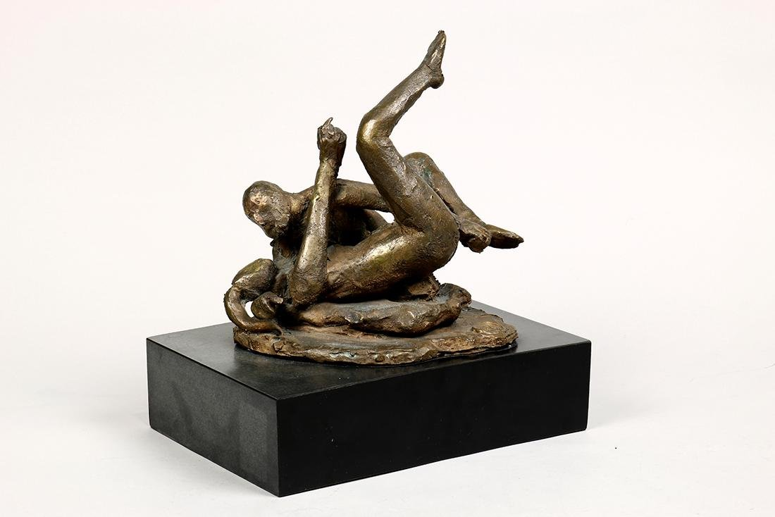 Sculpture, Giacomo Manzu, Lovers