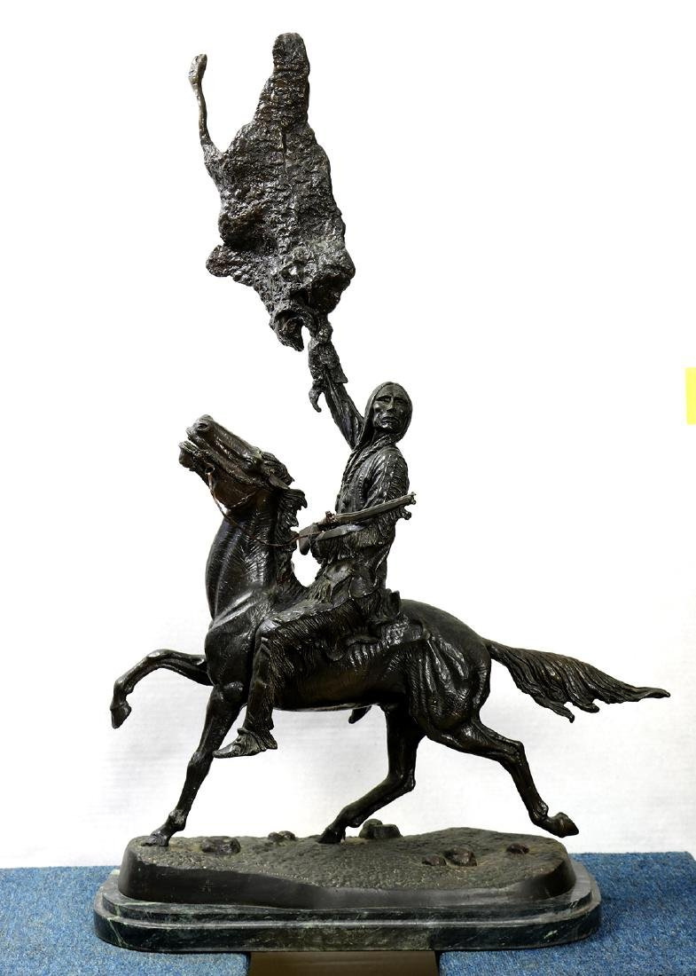 Sculpture, After Frederic Remington