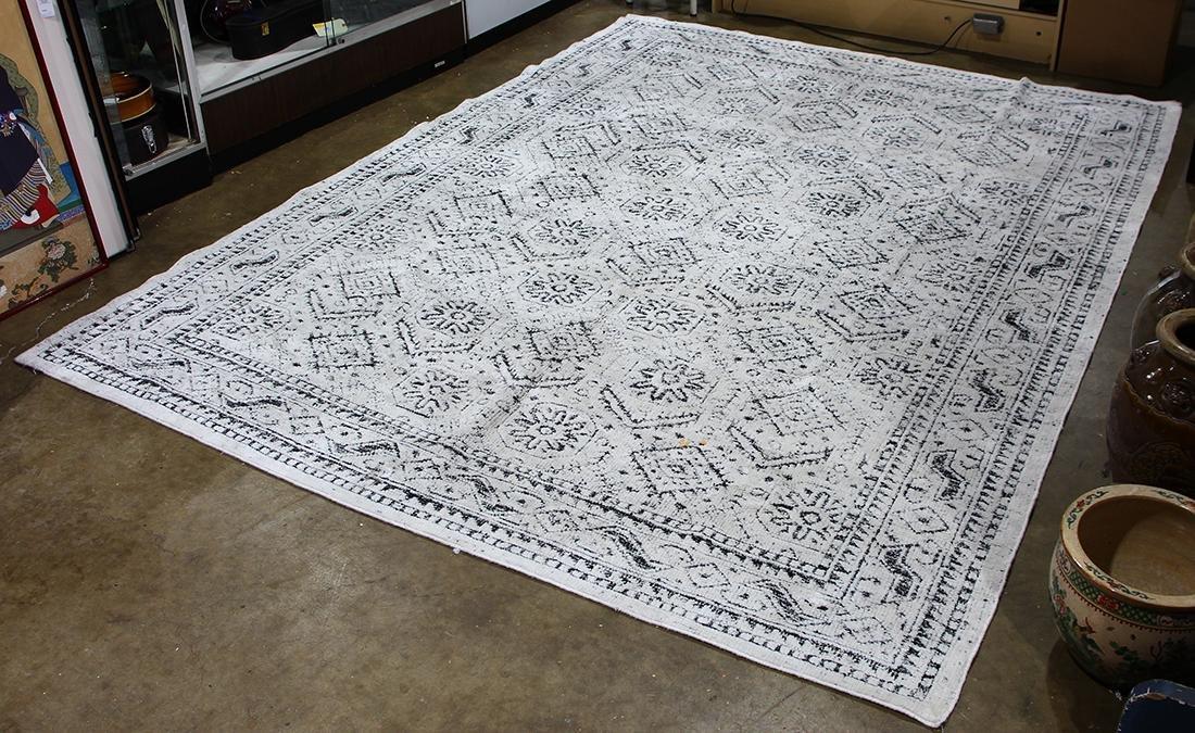 Moderne 100% silk Indian carpet