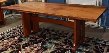 """Berkeley Mills Arts and Crafts style """"Mesa"""" mahogany"""