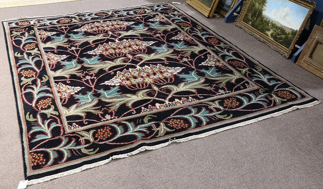 William Morris Arts and Crafts style carpet