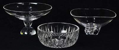 lot of 3 Crystal group
