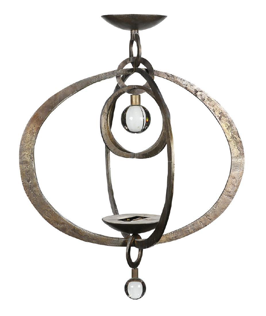Herve van der Straeten 'Astrolab' patinated bronze
