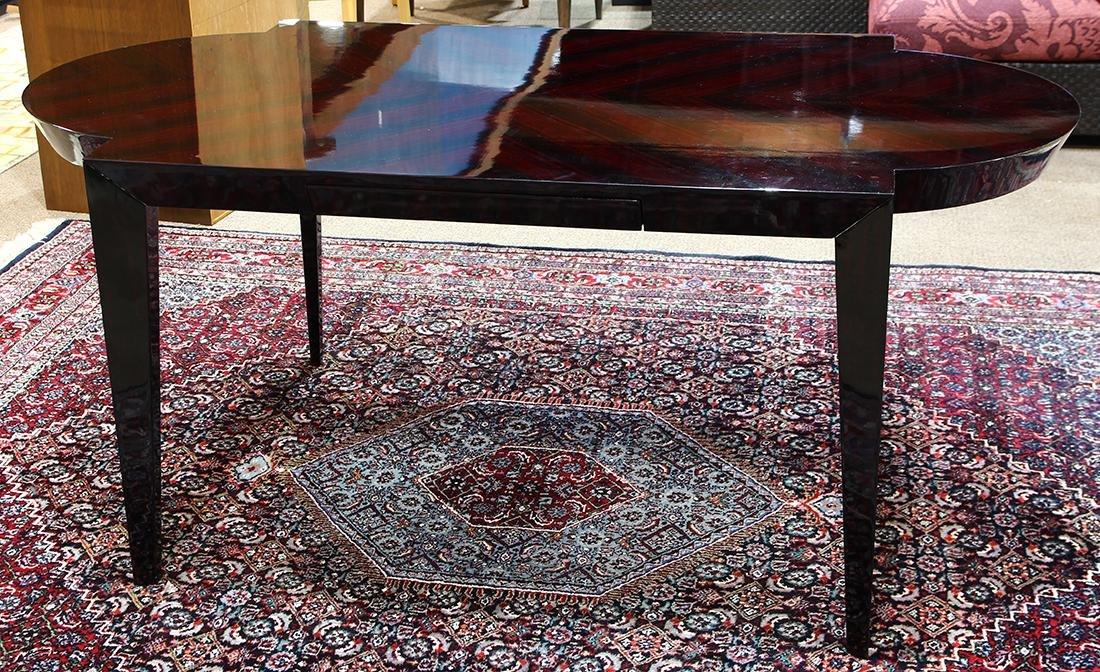 Art Deco style partner's desk