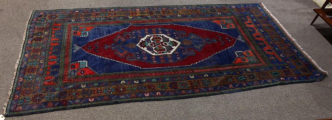 Semi Antique Turkish Milas carpet