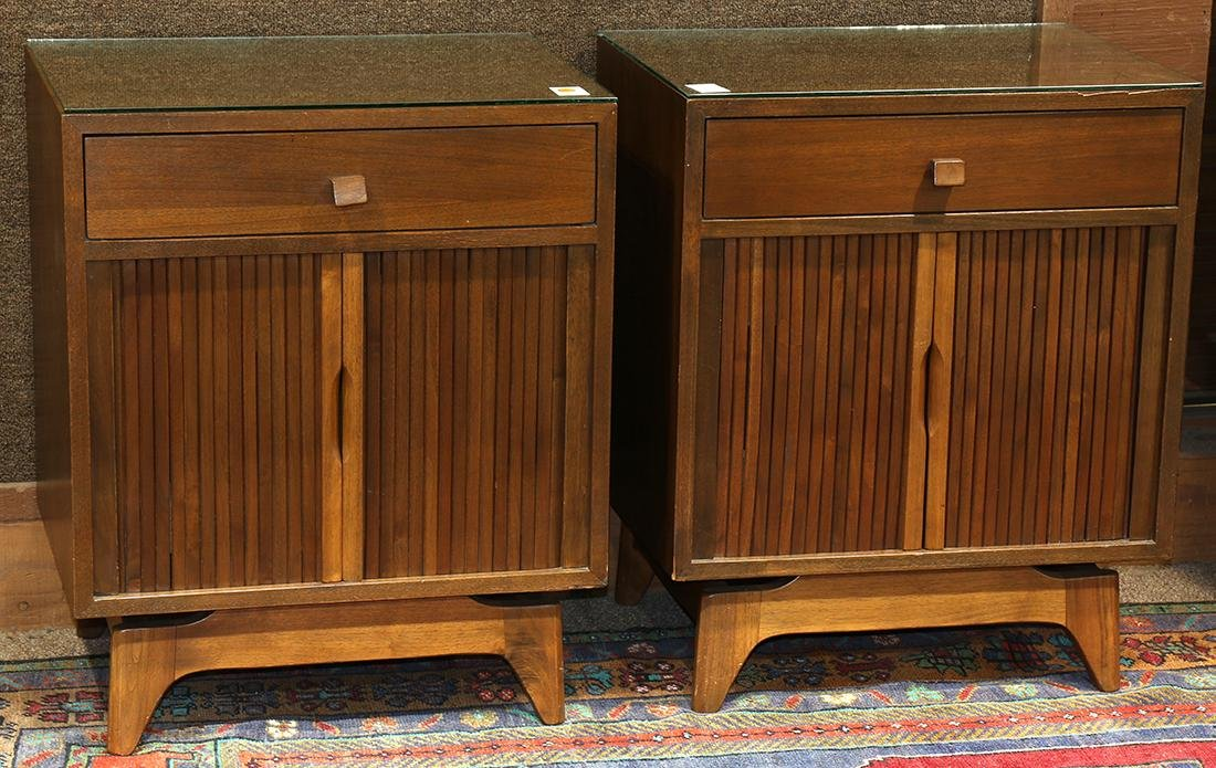 Pair of Mid-Century Modern occasional tables