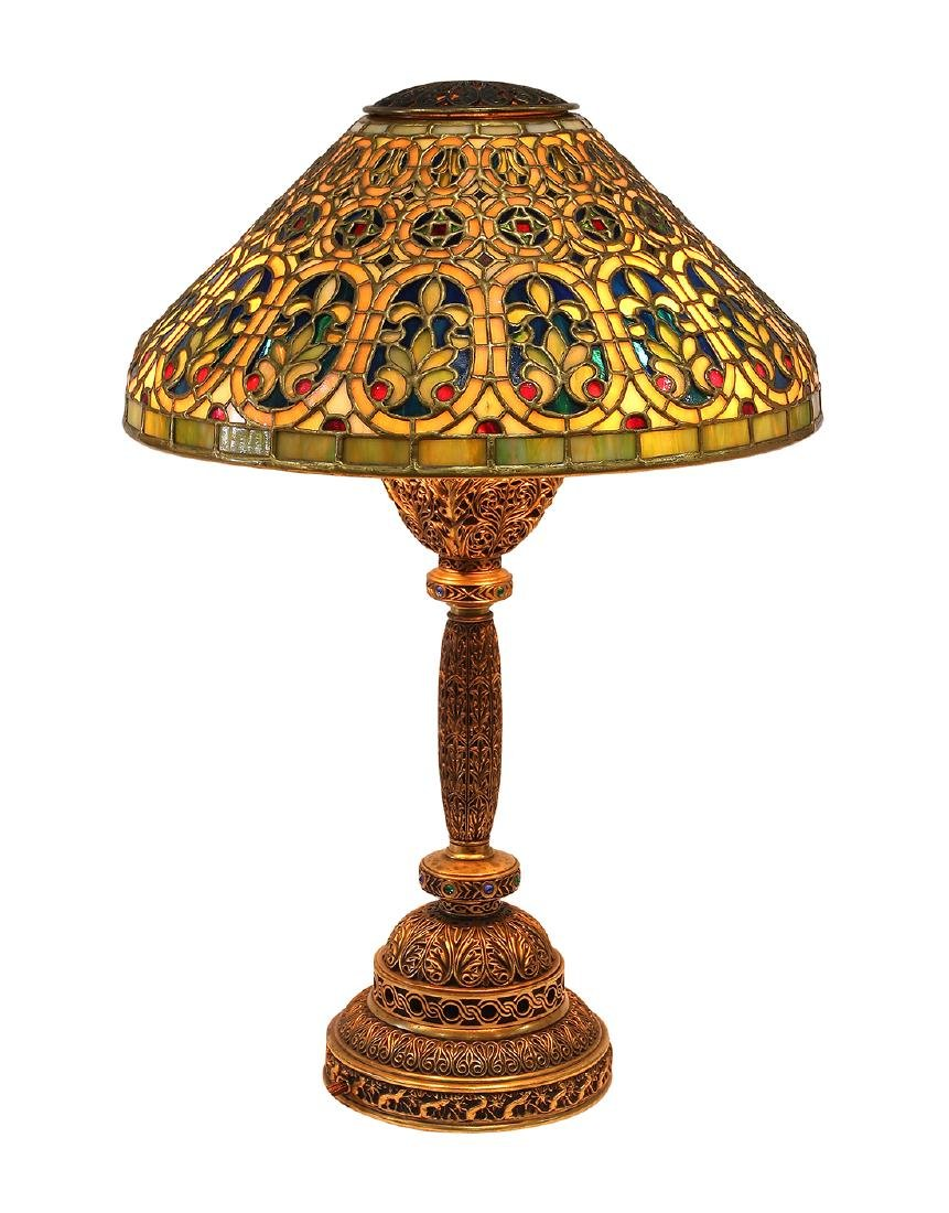 Tiffany Studios Venetian table lamp circa 1910