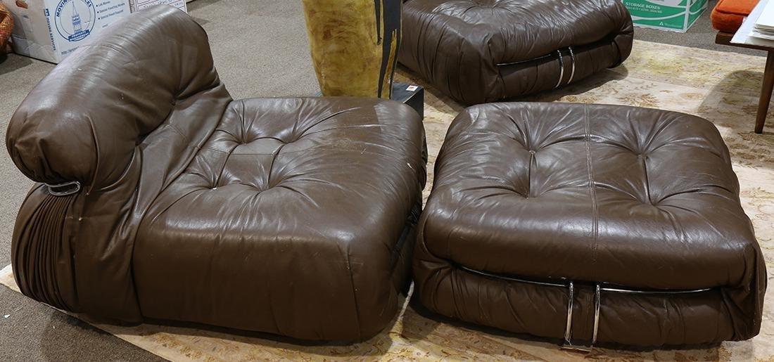 (lot of 4) Tobia Scarpa 'Soriana' for Cassina Furniture - 2