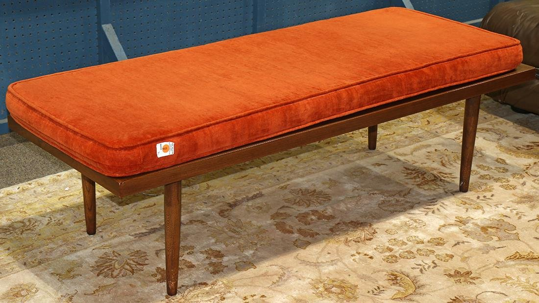 Mid-Century Modern window bench