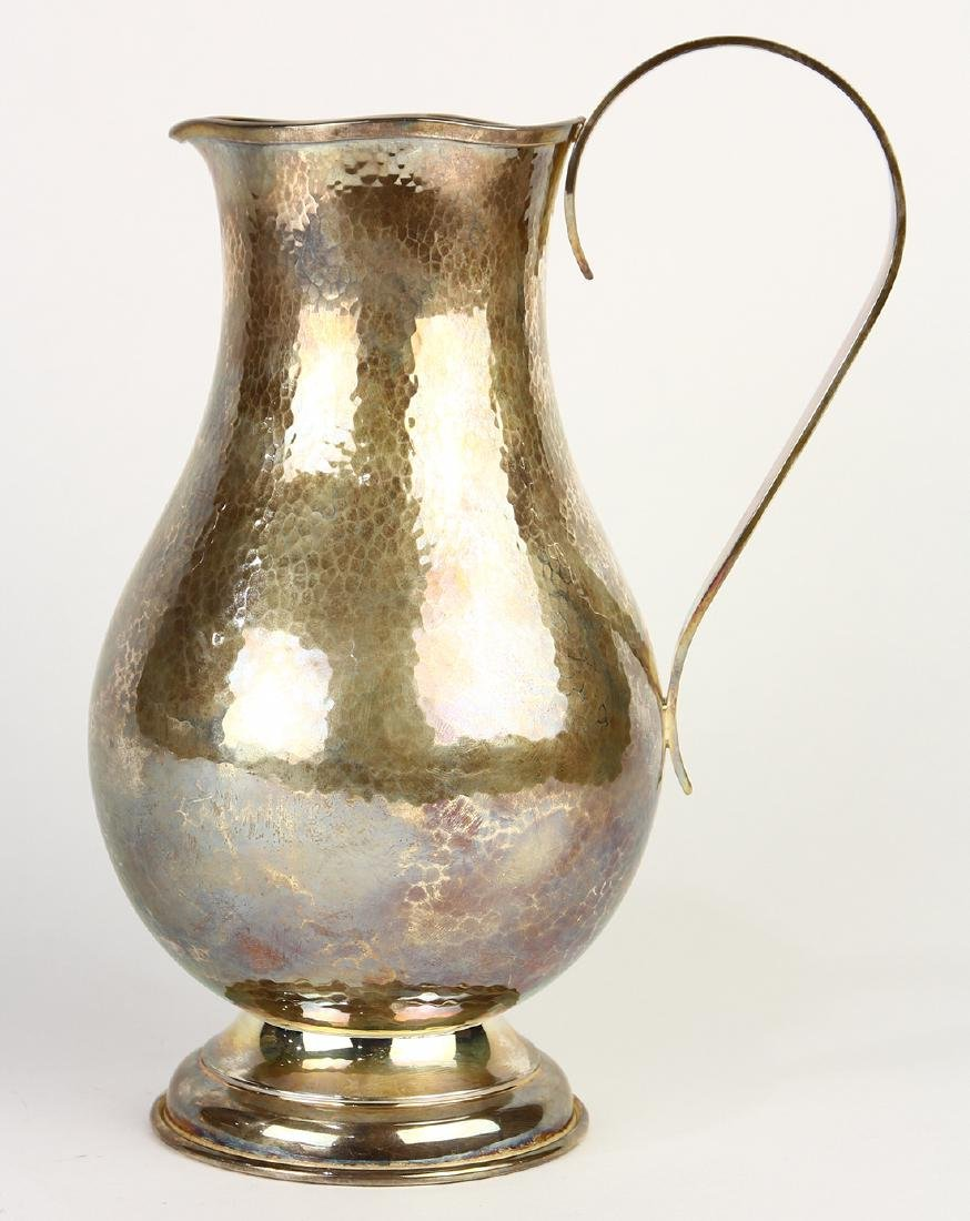 Canadian Boffey sterling silver pitcher