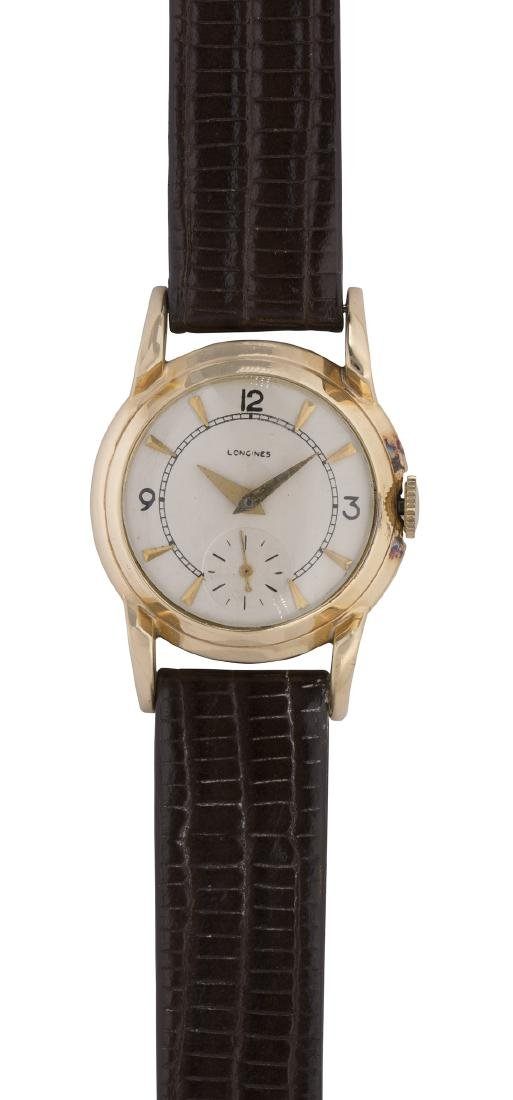 Longines 14k yellow gold wristwatch
