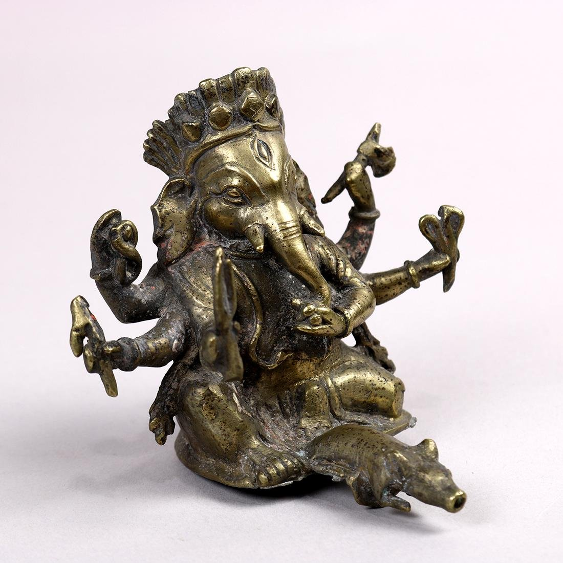 Indian Bronze Ganesha