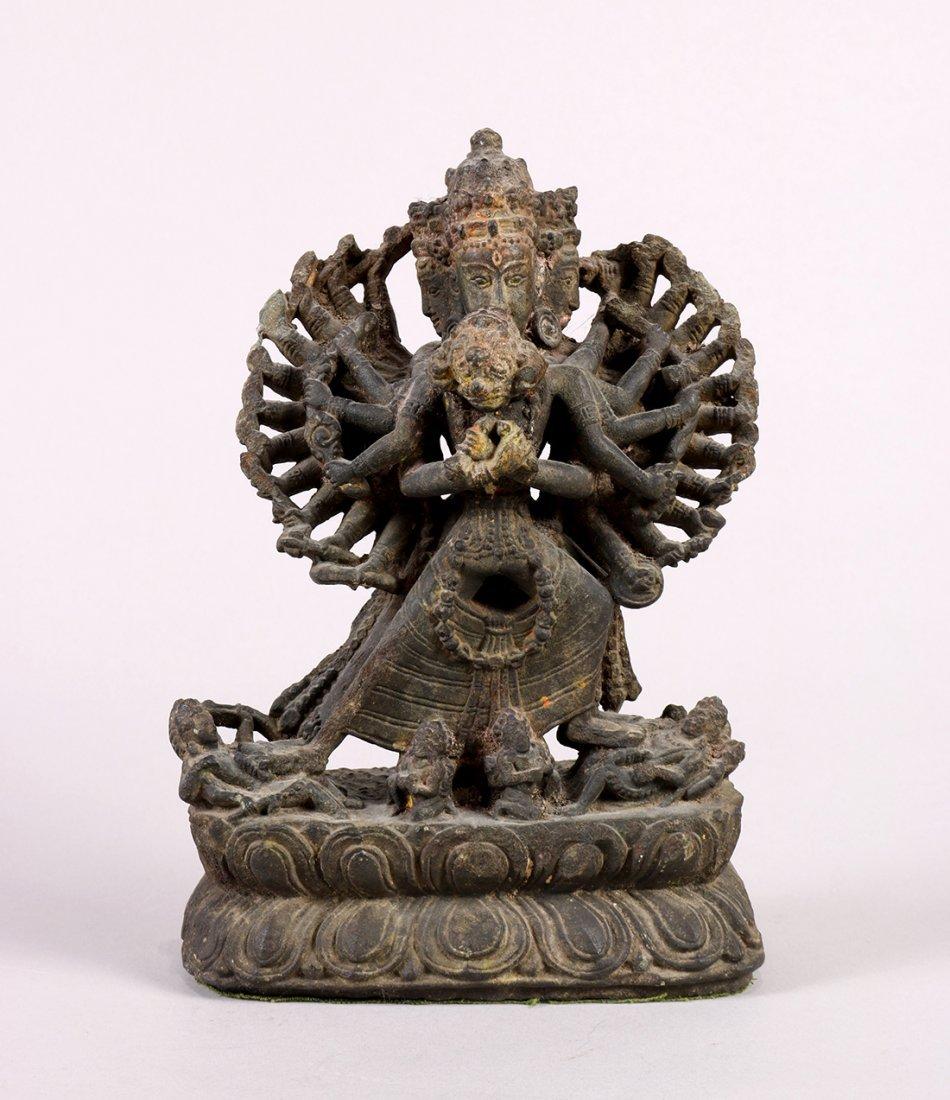 Himalayan Buddhist Stone Sculpture
