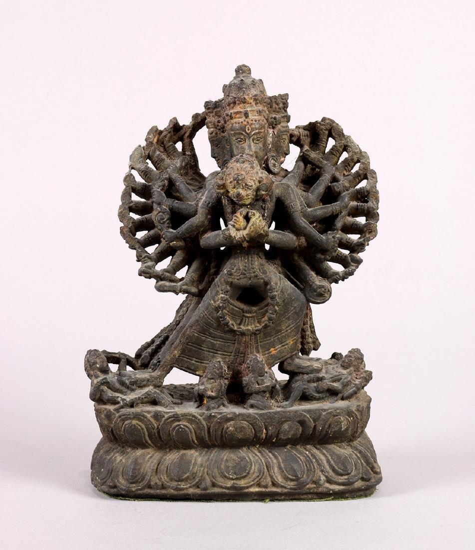 Himalayan Buddhist Stone Sculpture - 2